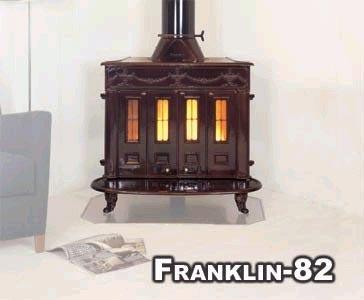 Печи-камины Franklin 82 - фото. Киров