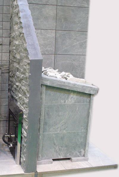 Печь для саун и бань NARVI — 50(R) JK в талькохлорите - фото. Киров